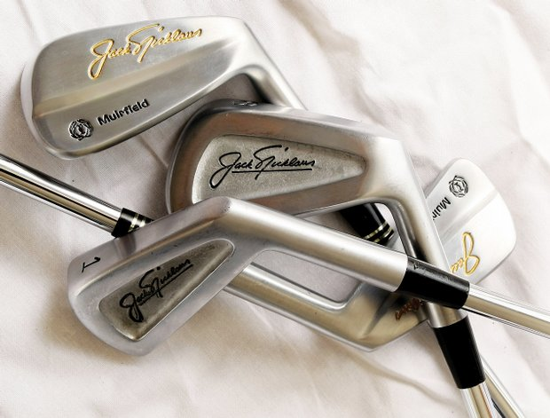 Jack Nicklaus' Muirfield line of MacGregor irons.