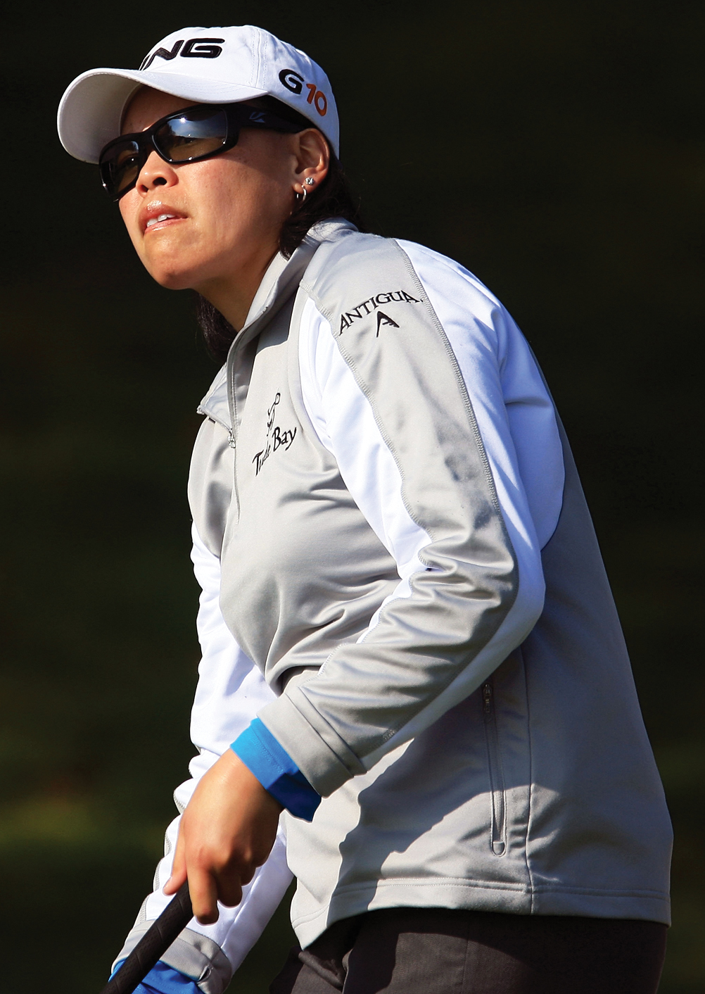 Dorothy Delasin struggled to hit fairways in 2009.