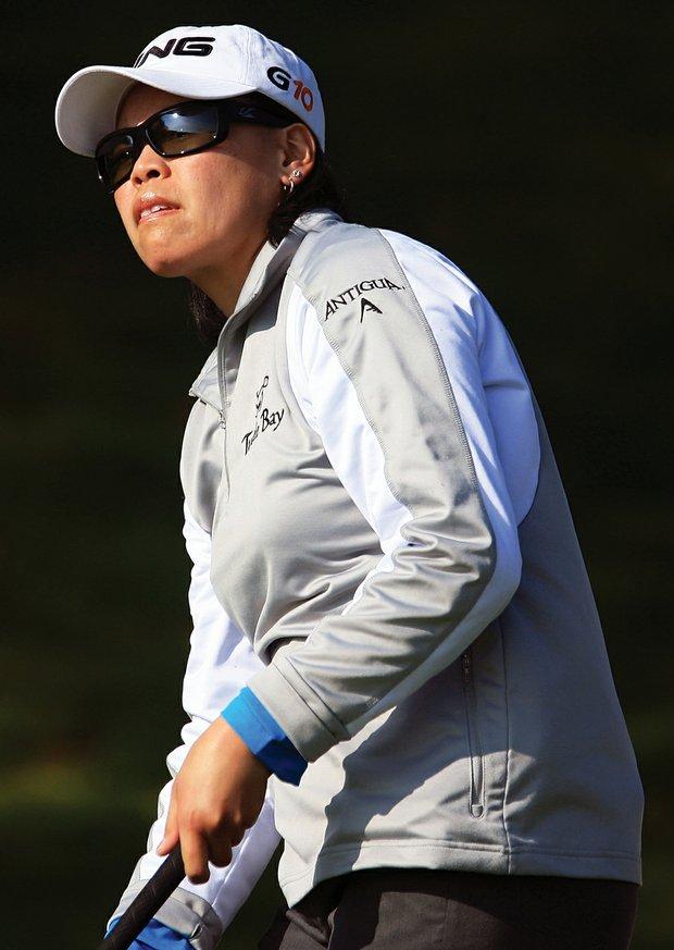 Dorothy Delasin struggled to hit fairways in 2009.