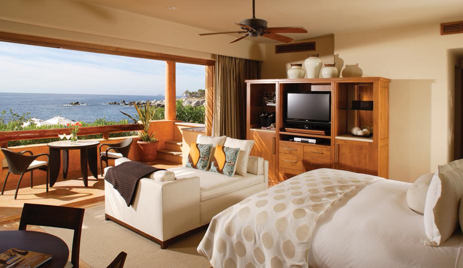 A room at Esperanza Resort.