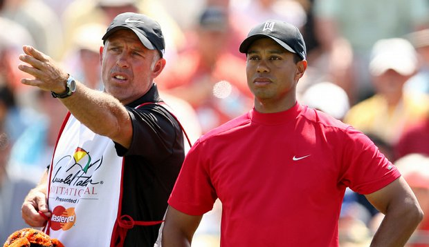 Steve Williams has caddied for Tiger Woods since 1999.