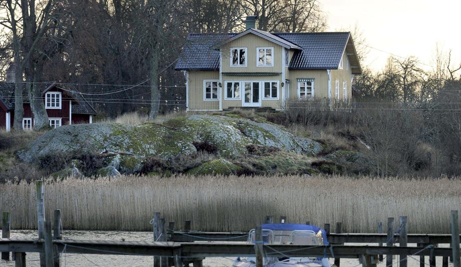 Faglaro farm on Faglaro island, Stockholm archipelago.