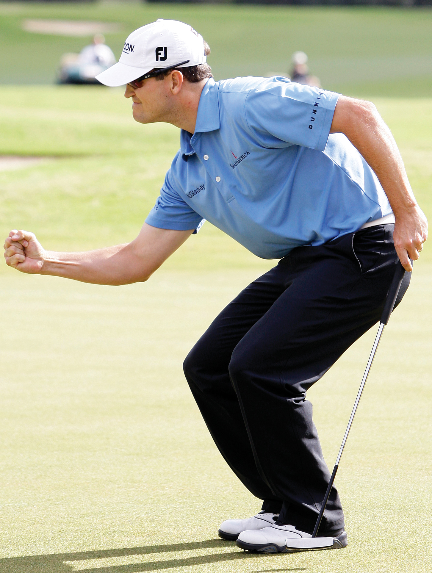 Zach Johnson is putting his focus on consistency.
