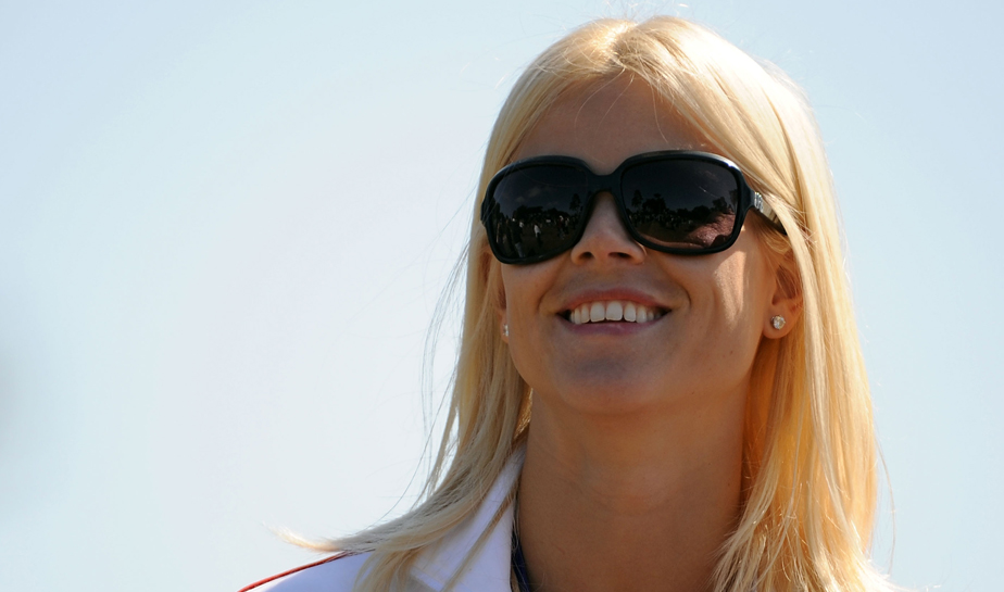 Elin Nordegren at the Presidents Cup in October.