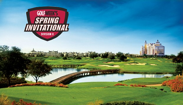 The Golfweek Spring Invitational will be played on the Independence Course designed by Tom Watson.