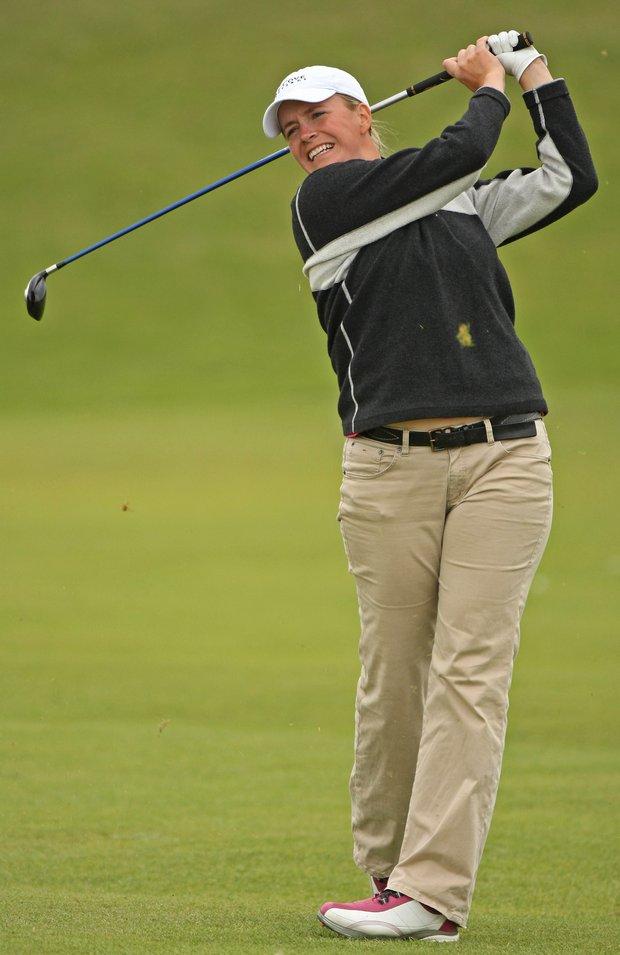 Allison Hanna rose 137 spots in the Golfweek/Sagarin Index.
