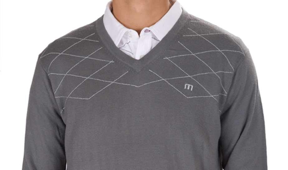 Travis Mathew uses argyle in a trendy way in their 2010 collection.
