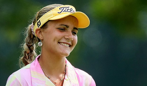 Alexis Thompson, pictured at the 2009 U.S. Women's Amateur, is still a couple years away from LPGA Q-School.