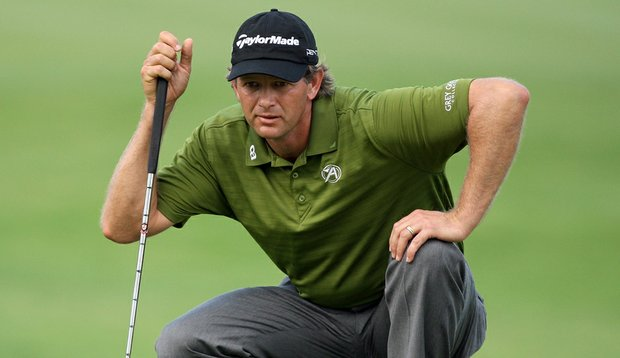 Retief Goosen at the Nedbank Golf Challenge in December.