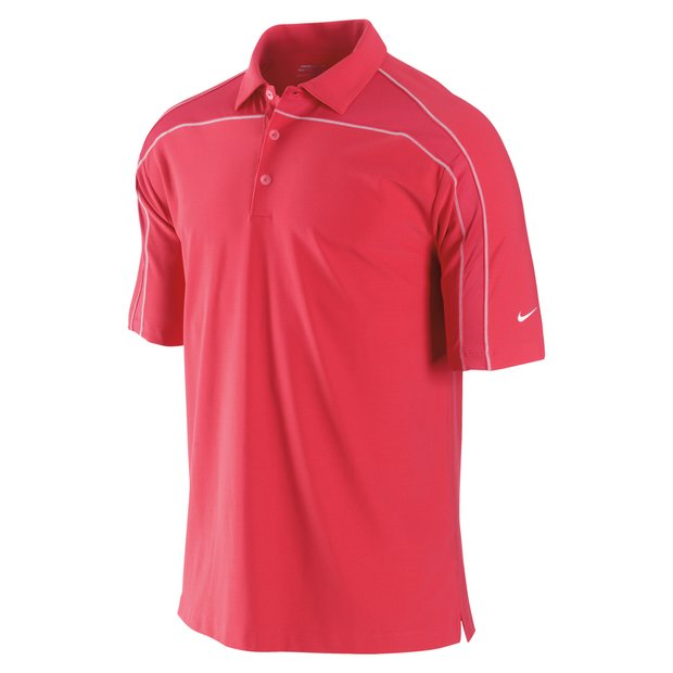 Aster Pink Contrast Stitch UV Polo, available January 1st 2010.