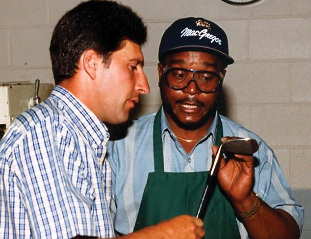 Jose Maria Olazabal and other top pros only trusted their clubs to the gifted touch of Don White.