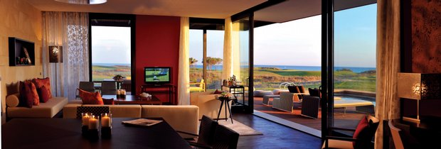 The Presidential Suite at Verdura Golf & Spa Resort.