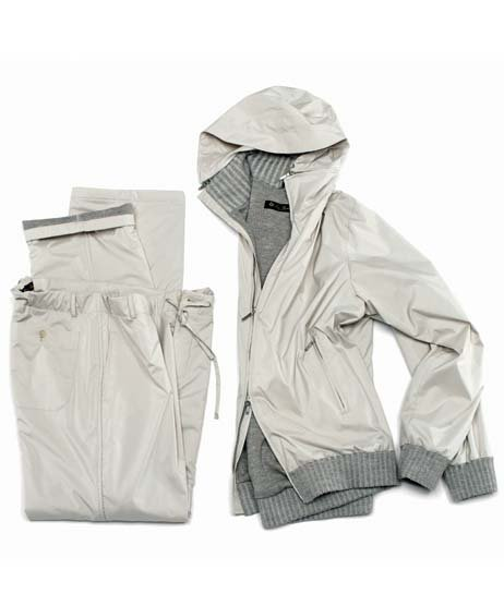 Stylish rain gear from Loro Piana.