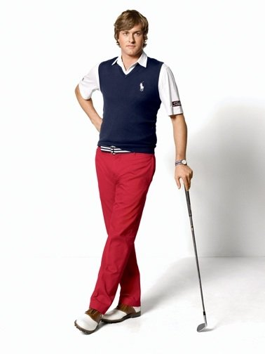 Ralph Lauren introduces their newest ambassador, Webb Simpson.