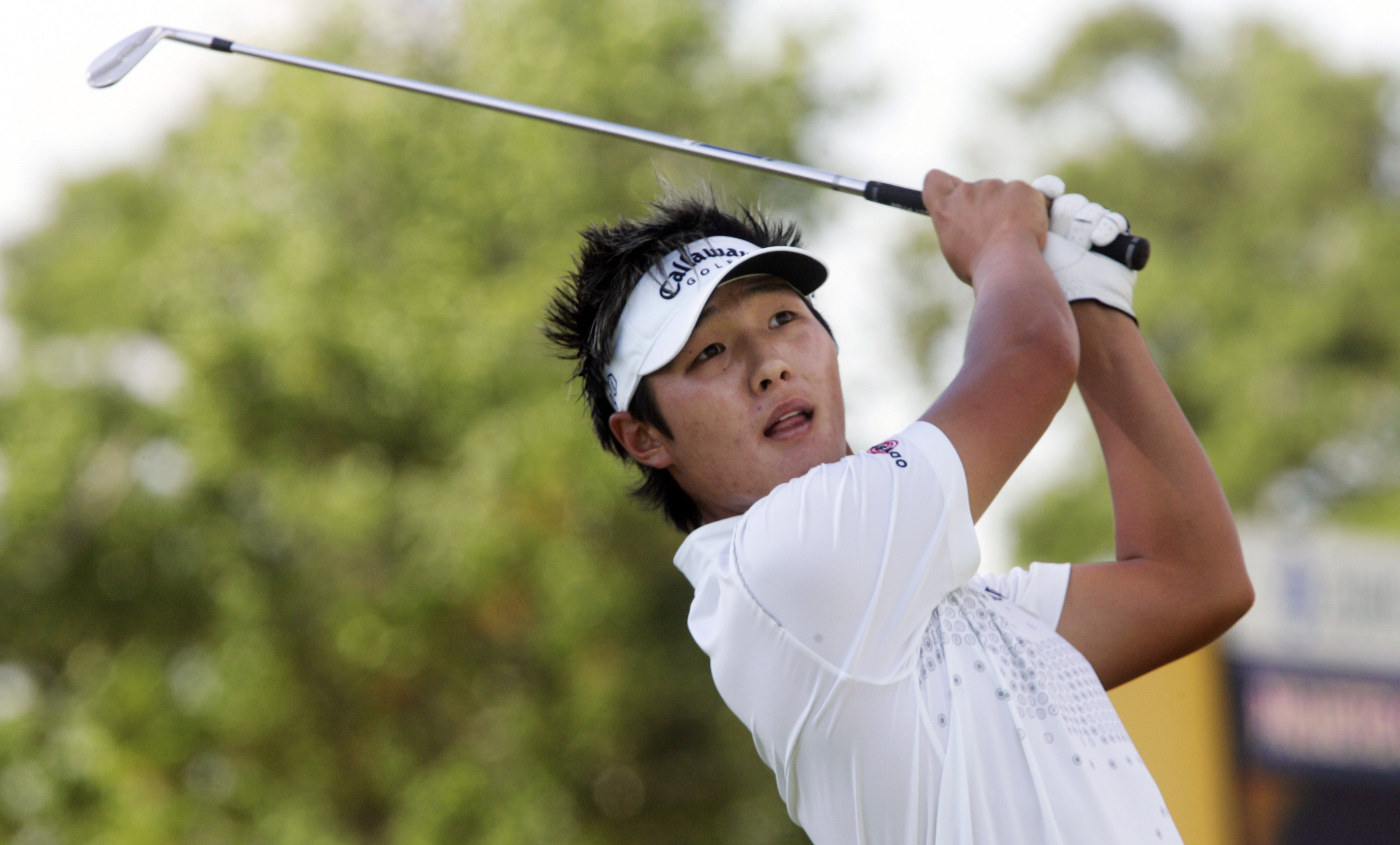 Danny Lee during the second round of the 2009 Zurich Classic.