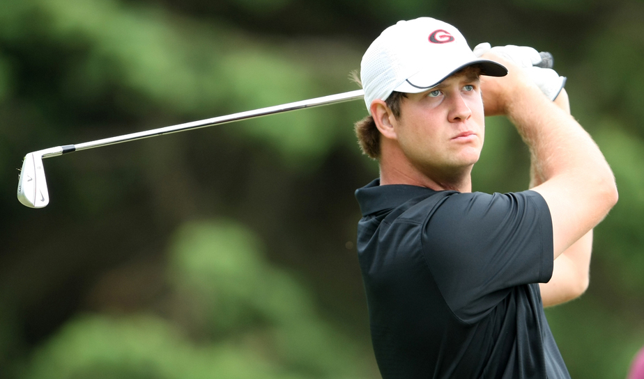 Hudson Swafford at the 2009 NCAA Championship.