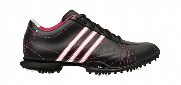 The signature Natalie Adidas golf shoe.