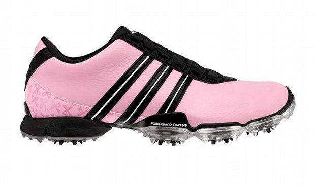 Paula Creamer's signature shoe presented by Adidas.
