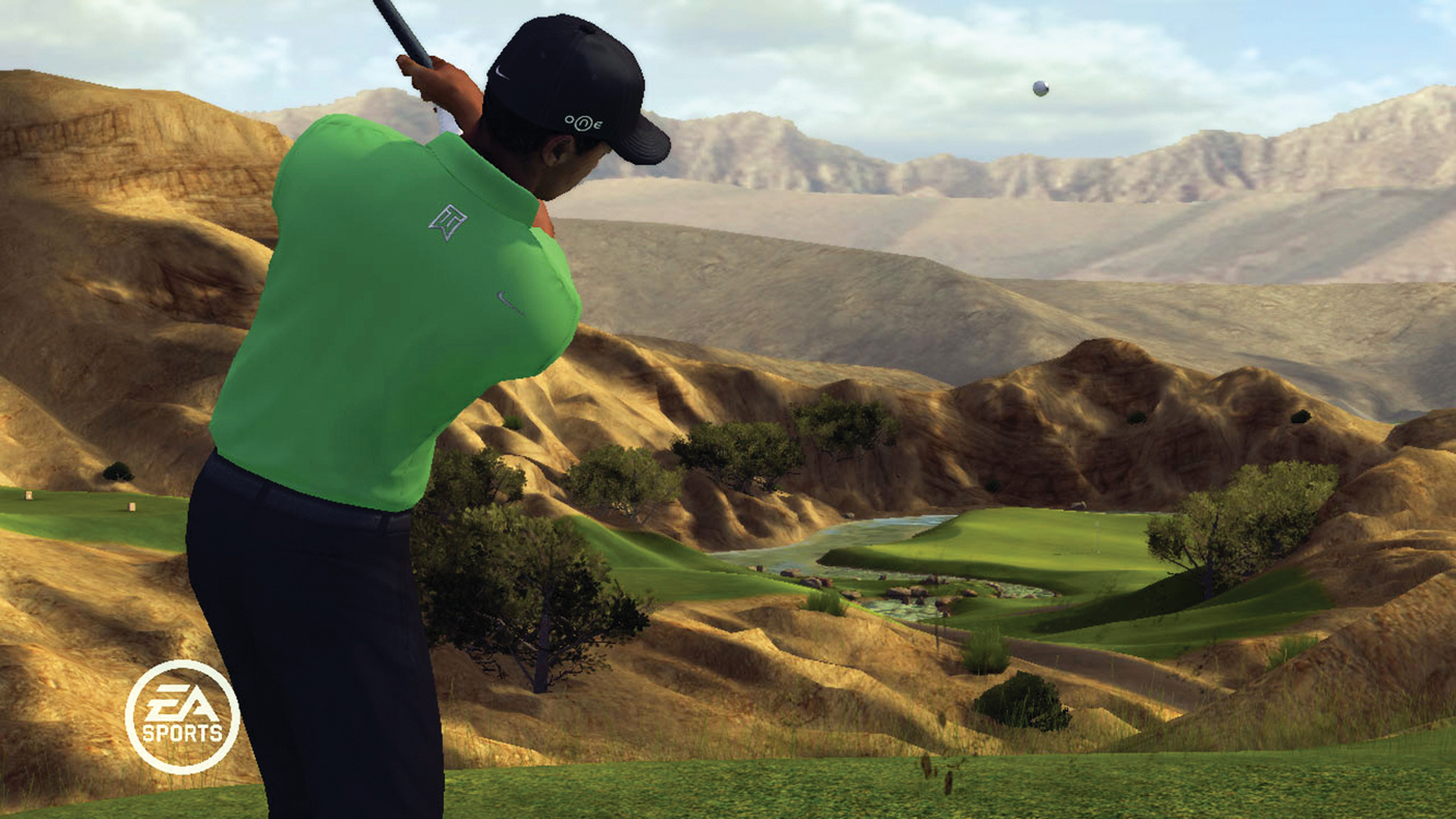 Video-game maker EA Sports is sticking with Woods.