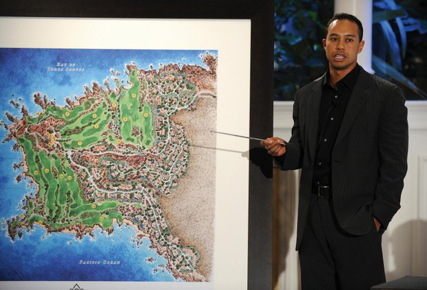 Tiger Woods design is involved in three marquee projects, including Punta Brava, a private Mexican retreat.