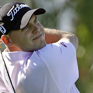 Bill Haas during the final round of the Bob Hope Classic.