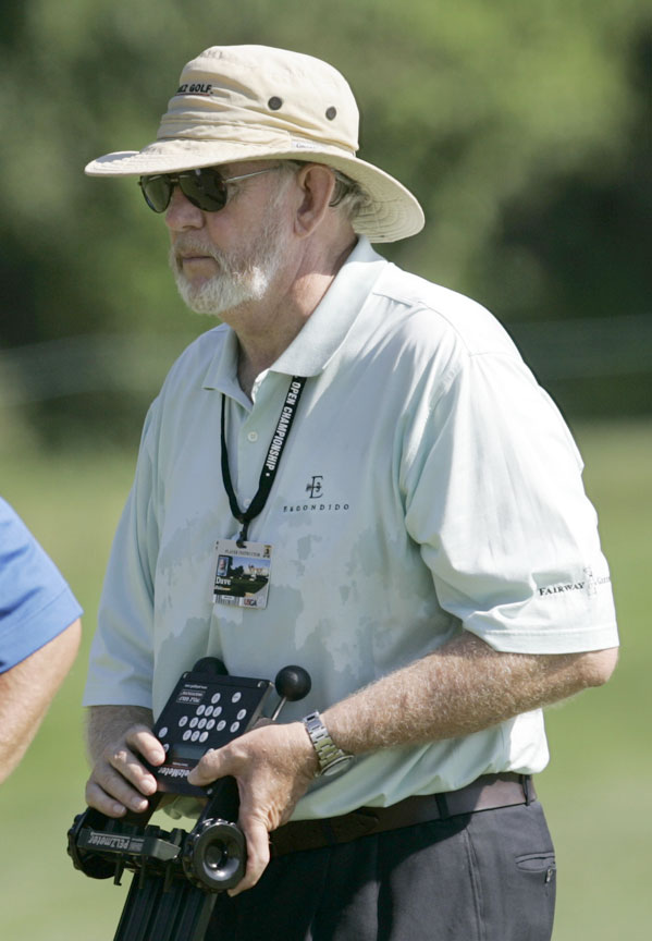 Dave Pelz, as seen during a practice round at the 2007 U.S. Open.