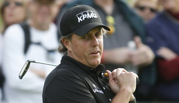 "Phil Mickelson hinted at legal action as a response to ""cheating"" accusations earlier this week at the Farmers Insurance Open."