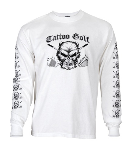 A long-sleeved shirt from Tattoo Golf.