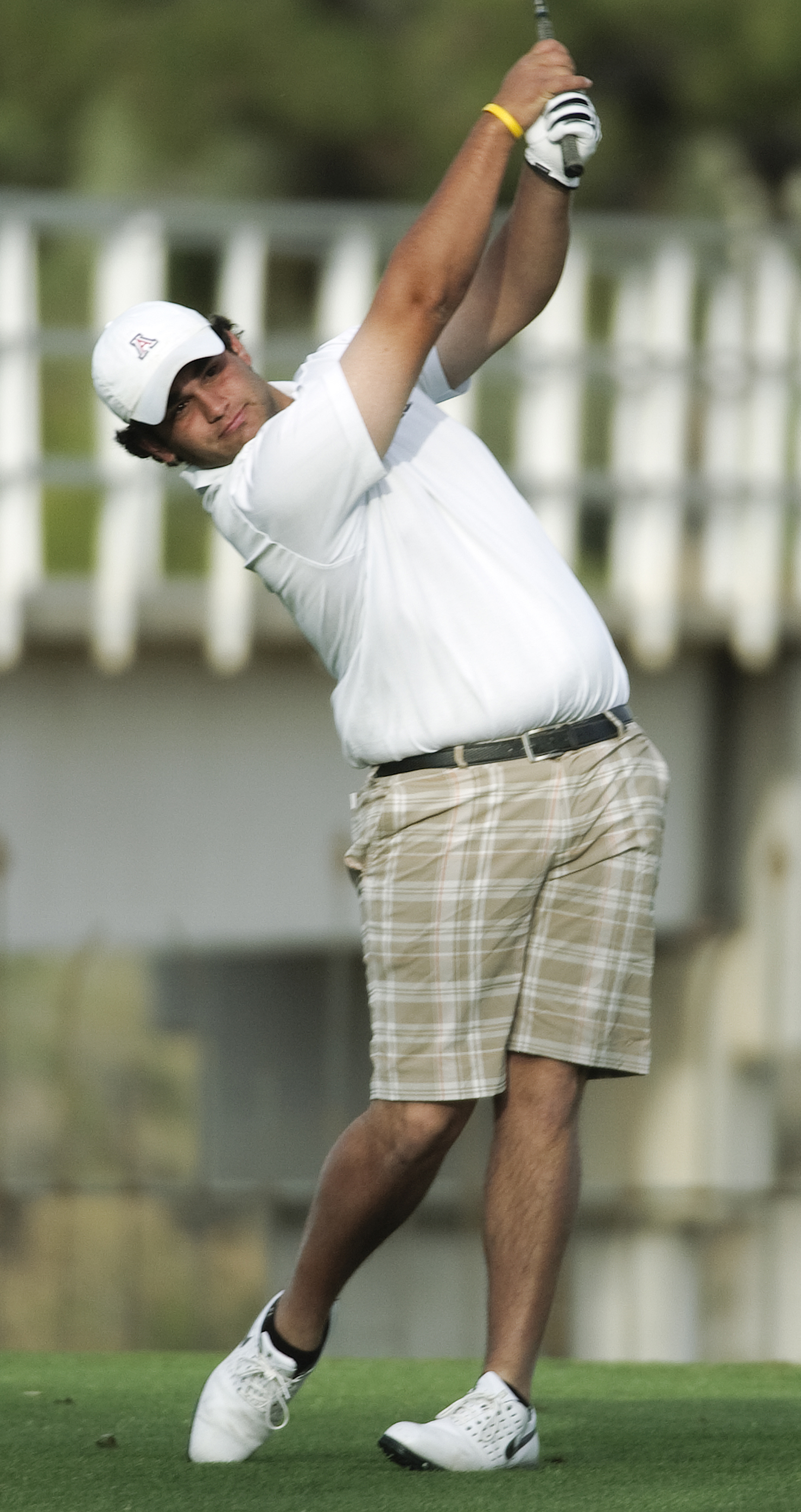 Arizona senior Rich Saferian won the Arizona Intercollegiate.