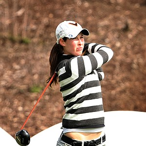 Laetitia Beck of Israel posted a 68 for the first round and held a one stroke lead.
