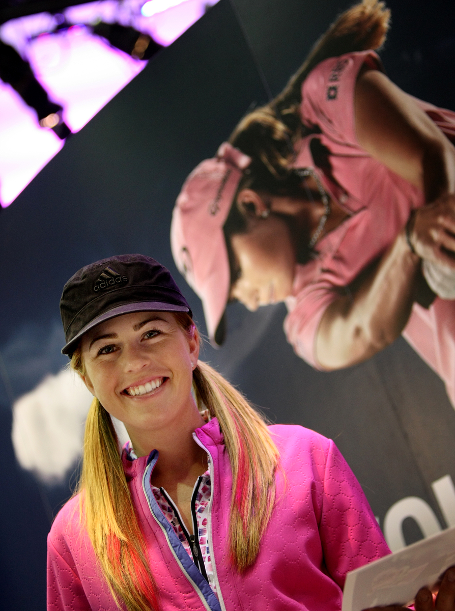 Paula Creamer at the 2009 PGA Merchandise Show.
