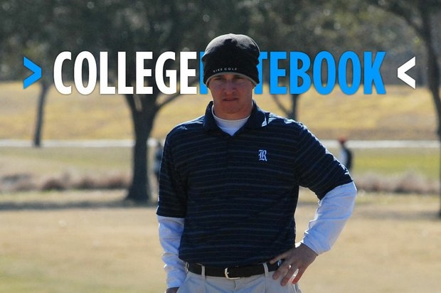 Rice senior Chris Brown shot rounds of 74-73-69 to win the Rice Intercollegiate by four shots.