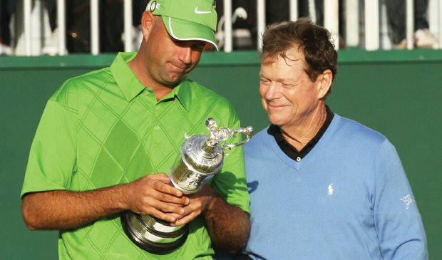 At the 2009 British Open, Stewart Cink grasps his first major victory – and the prize that was so tantalizingly close to being Tom Watson's.