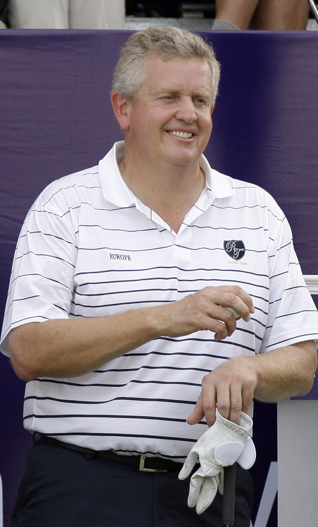 Colin Montgomerie at the Royal Trophy.