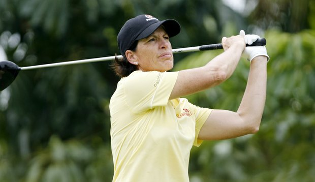 Juli Inkster at the HSBC Champions.