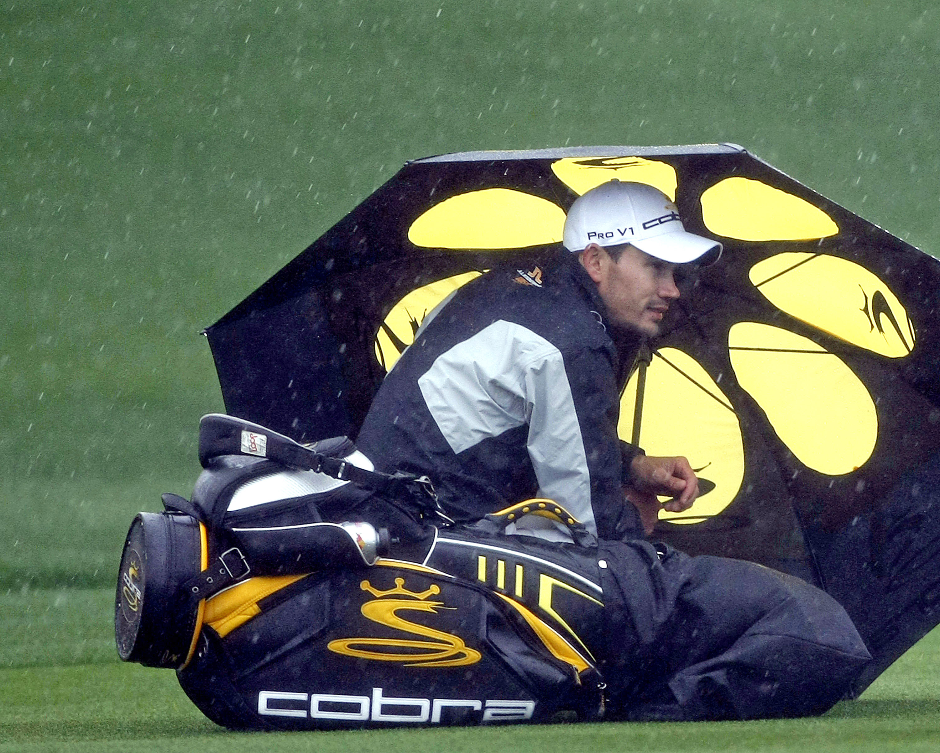 Camilo Villegas at the Accenture Match Play Championship.