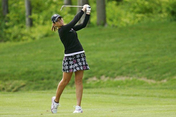 Erica Blasberg at the 2008 LPGA Corning Classic.