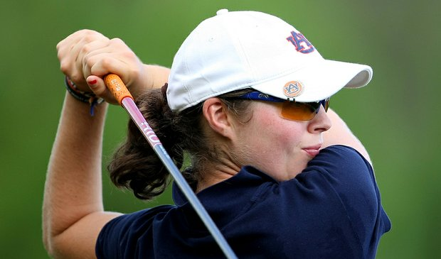 Auburn's Candace Schepperle fired a 5-under 67 in the final round of the Tiger/Wave Golf Classic March 14 to finish fourth at 3-over 219. The Tigers won the team title, their second victory in a row.