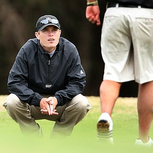 Assistant coach at University of Central Florida, Toby Ragland, during the Rio Pinar Invitational. Ragland played for University of Florida last year.