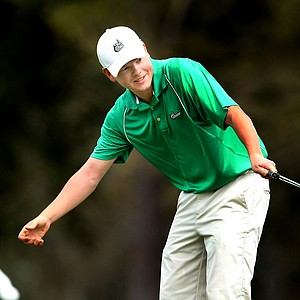 Olafur Loftsson of University of North Carolina at Charlotte took individual honors on Tuesday with a total score of 209.