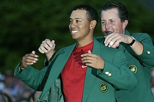 Tiger Woods last won the Masters Tournament in 2005.