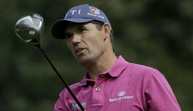 Padraig Harrington shot a second-round 65 to take the lead early Friday at the Transitions Championship.