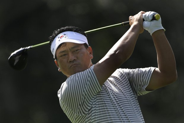 K.J. Choi is part of a four-way tie for second.