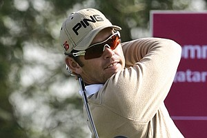 Louis Oosthuizen during the Qatar Masters in January.