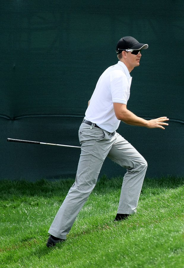 Henrik Stenson is T3 after Thursday's round.