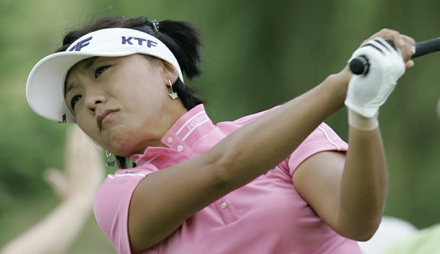 Mi Hyun Kim is playing this week at the Kia Classic, her first LPGA event since giving birth to a baby boy in November. (File photo)