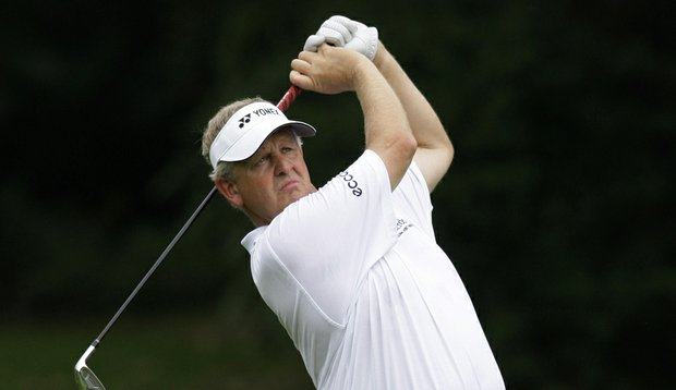 Colin Montgomerie is playing this week in the Arnold Palmer Invitational. (File photo)