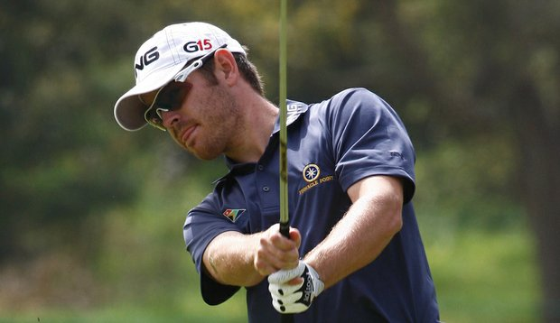 If Louis Oosthuizen can hold his lead in the final round, he will earn an invitation to the Masters.