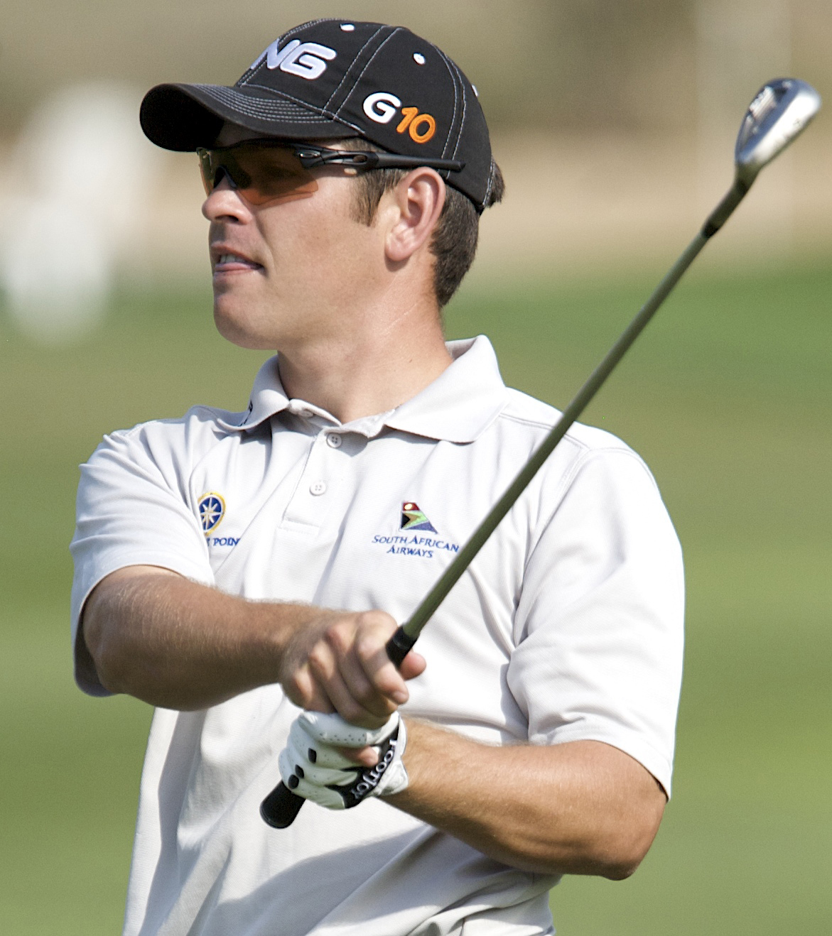 Louis Oosthuizen has a one-stroke lead entering the final round of the Andalucia Open. (File photo)