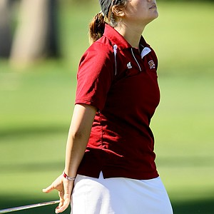 Kimberly Kim of University of Denver opened with an 81 on Thursday. She is one of seven amateurs.
